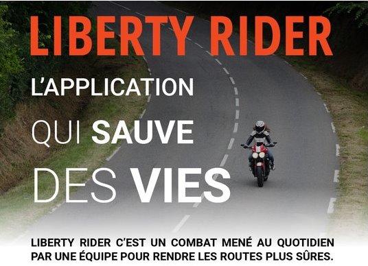 Liberty Rider, l'appli qui sauve des vies